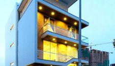 Thiết kế biệt thự phố 4 tầng đẹp
