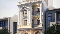 Thiết kế biệt thự phố cổ điển 7x15m