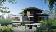 Thi công trọn gói biệt thự hiện đại tại Hà Nội